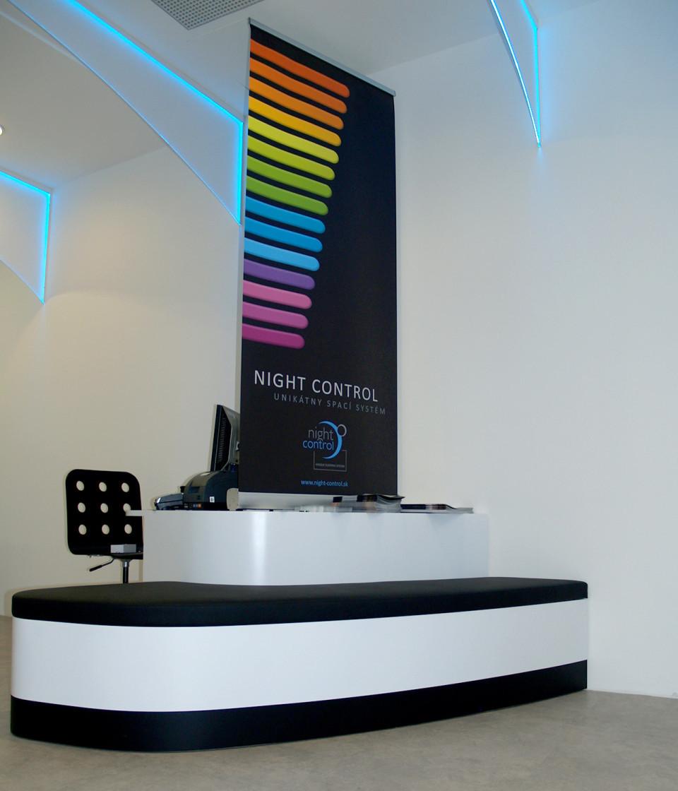 Gumotex - vybavení obchodu, design obchodu