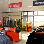 Bobcat - vybavení obchodu, design obchodu