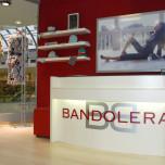 Bandolera - vybavení obchodu, design obchodu